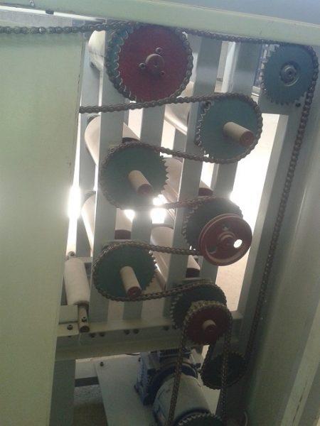 دستگاه تولید تور مش