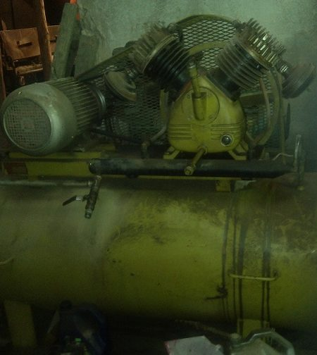 کمپرسور باد ۵۰۰ لیتری
