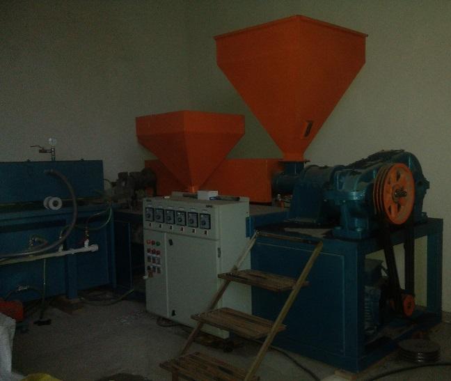 دستگاه تولید لوله برق دوجداره