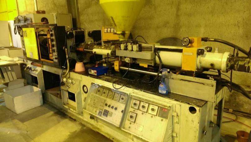 تزریق پلاستیک ۳۵۰ گرم (۱۶۰ تن) وینسور انگلیس