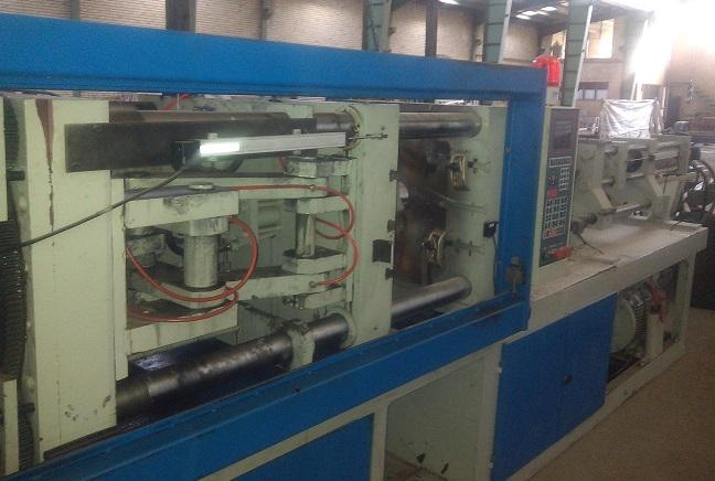 تزریق پلاستیک ۴۰۰ گرم (۱۴۰ تن) تقوی راد