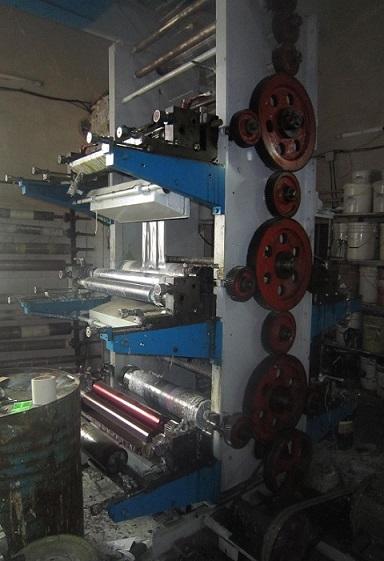 دستگاه چاپ ۵ رنگ