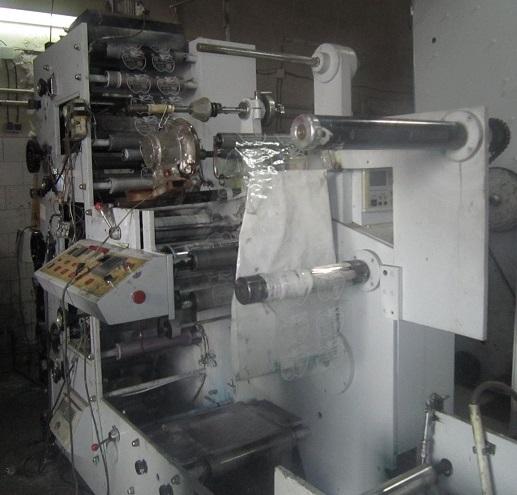 دستگاه چاپ ۴ رنگ چینی