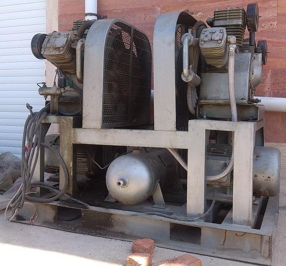 کمپرسور ۴۰ بار ۲ موتوره چینی