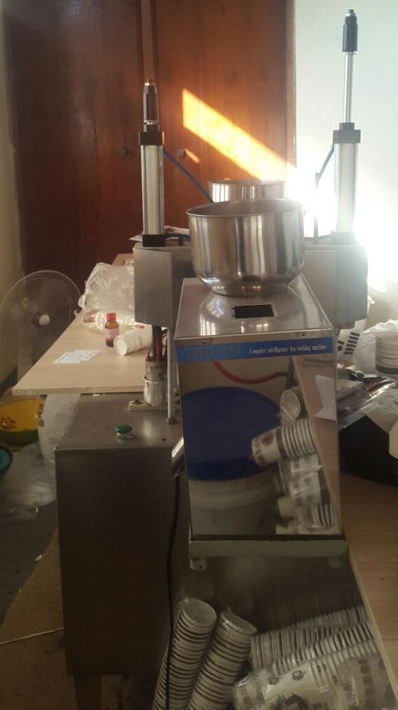دستگاه تولید لیوان چای دار
