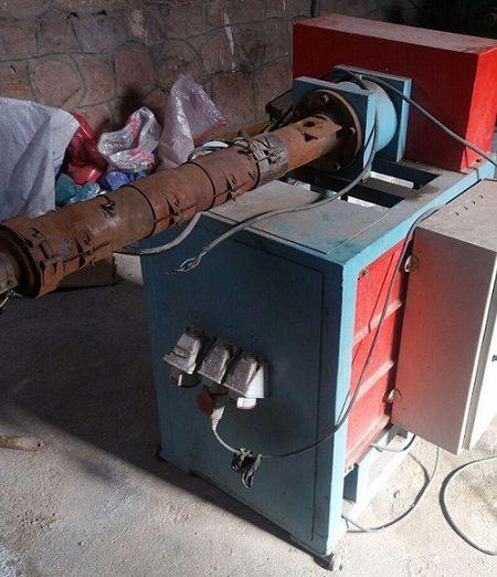 دستگاه تولید لوله دو لایه و تک لایه خط دار