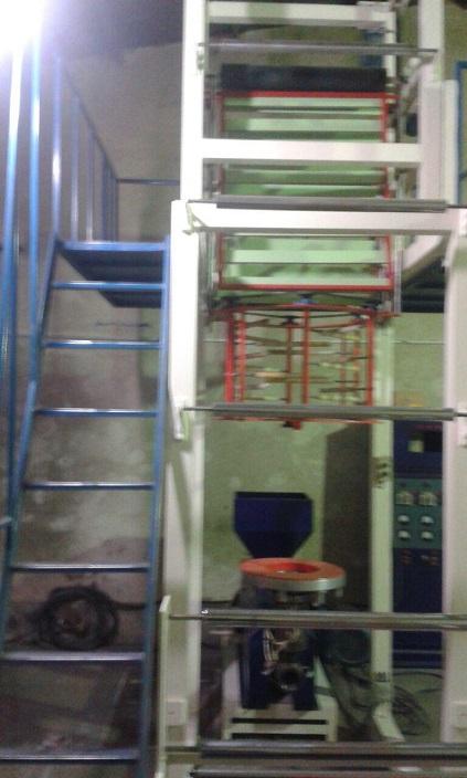 دستگاه تولید نایلکس و فریزر عرض ۸۰
