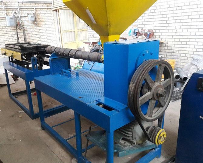 دستگاه تولید لوله خرطومی