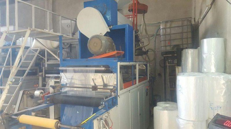 دستگاه تولید سلفون عرض ۸۰