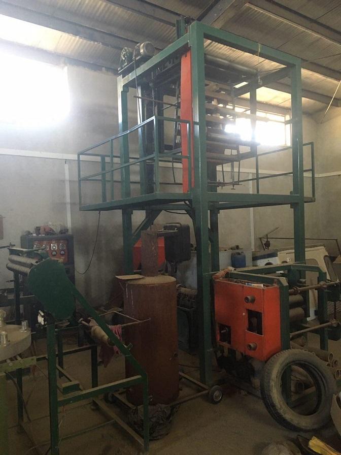 دستگاه تولید نایلون عرض ۸۰ cm