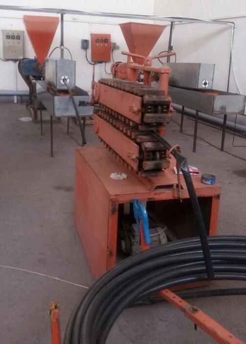 دستگاه تولید لوله پلی اتیلن